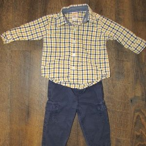 Gymboree outfit toddler boy size 9 months